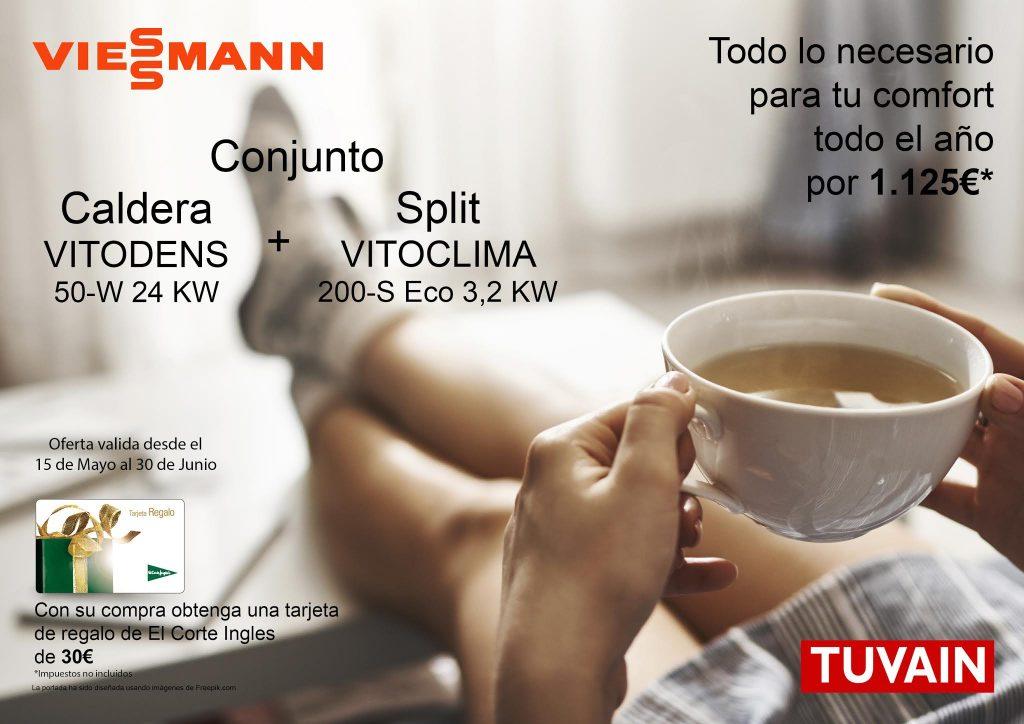 Promoción Caldera + Aire Acondicionado Viessmann
