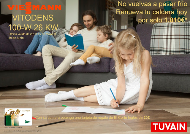 Promoción Caldera Vitodens 100-W 26 Kw